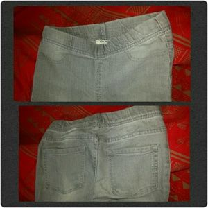 Request Jeans (green) and Cherokee (gray) Bottoms - Bundle - Girls 2 pair of jeans.