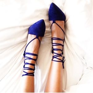 Missguided Shoes - Lace up pumps