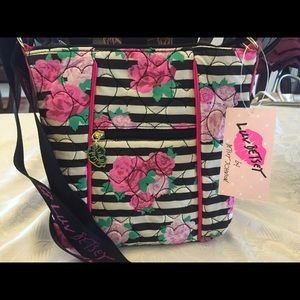 Betsey Johnson Rosie Quilted Crossbody NWT!!