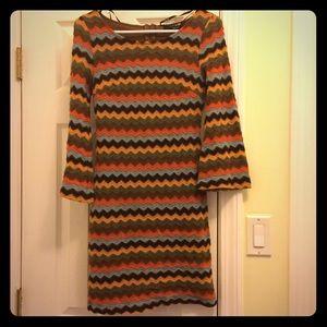 Forever 21 Dresses & Skirts - Chevron knit dress | Size M