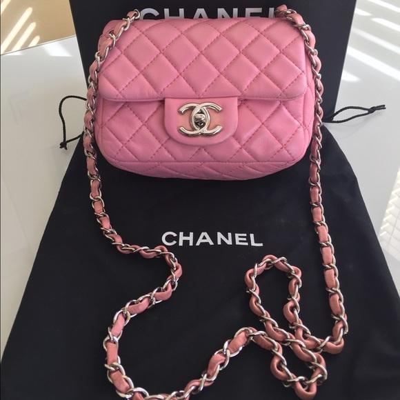 56481441b886 CHANEL Handbags - Authentic Chanel Mini Classic Flap Bag/Square