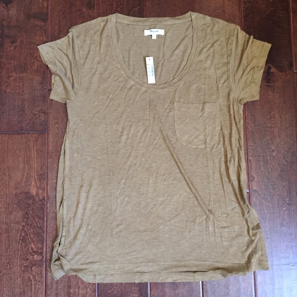 Madewell Tops - Madewell Anthem Scoop Tee