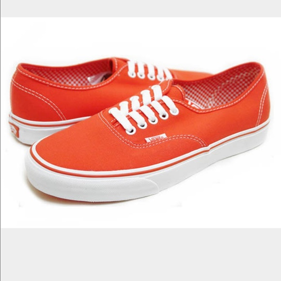 e4690c32c985f1 Vans Shoes - Women s orange vans