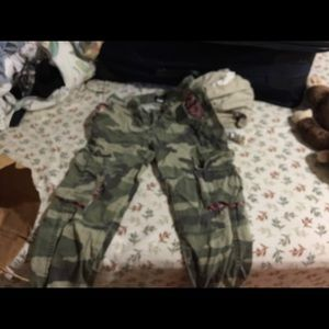 Camo Cargos from urban outfitters