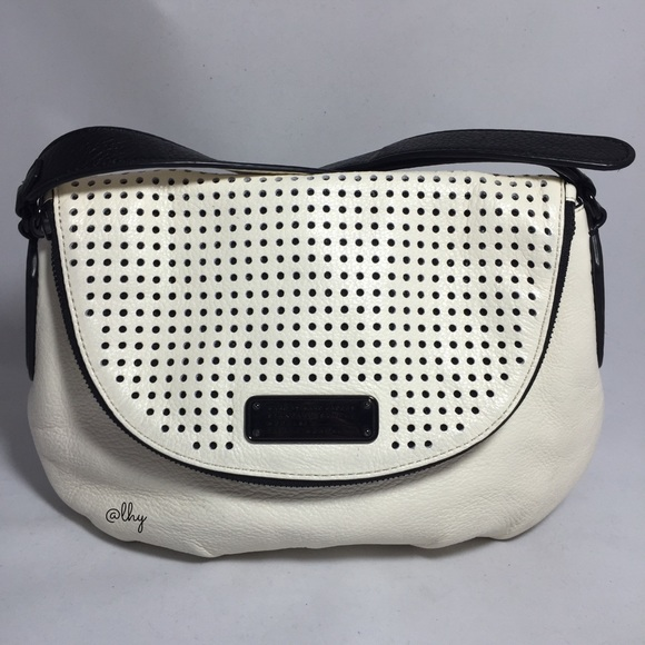 3527530f0a54 ... NEW-Q PERFORATED NATASHA BAG. Marc by Marc Jacobs.  M 561057428e1c614e2800c6be. M 561057432599fe4c2f0037f3.  M 56105743522b457841003882