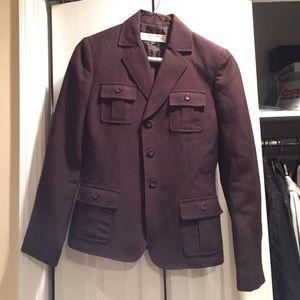 Tahari Other - Tahari ASL Brown Linen Suit