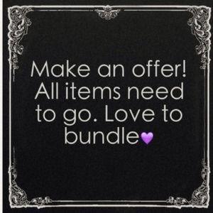Make me an offer !!