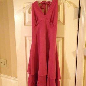 Dresses & Skirts - Pink halter dress