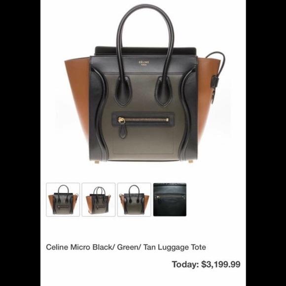 buy celine handbags - Celine - ...SOLD....100% Authentic Celine luggage tote from ...