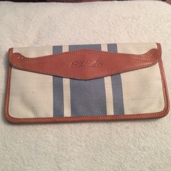 3b3552f60e1 Ralph Lauren Bags   R U G B Y Clutch   Poshmark