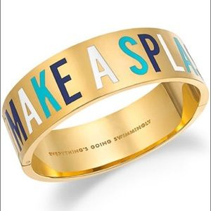 "Final BNWT Kate Spade ""Make A Splash"" Bracelet"