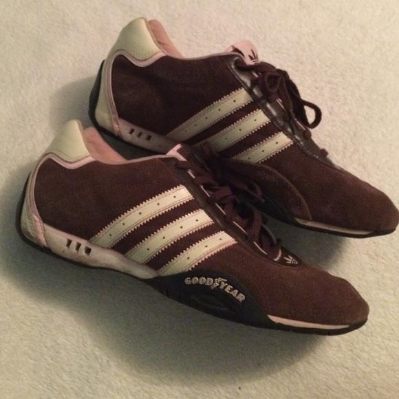 Adidas zapatos Marrón Pink Suede zapatilla poshmark