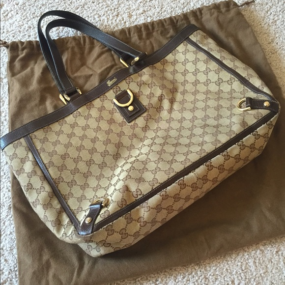 af18c8baf Gucci Handbags - Gucci ABBEY D-RING Tote bag NWT Authentic