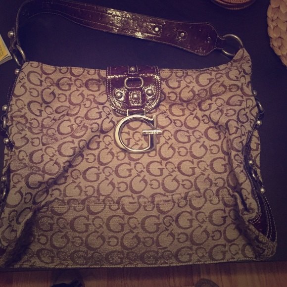 Guess Bags | Big Brown Bag | Poshmark