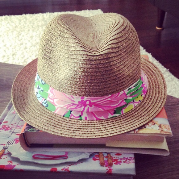 Lilly Pulitzer for Target Other - Lilly Pulitzer fedora beach hat 29014c1e479