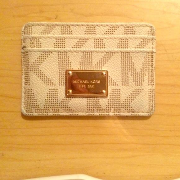d4867607f992 Authentic Michael Kors Credit Card wallet. M 561090a19c6fcf38d3005517
