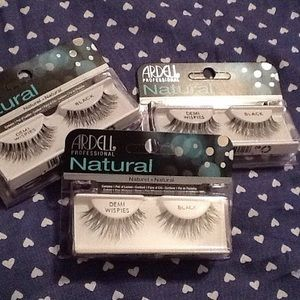 Other - Set of 3 Ardell Natural Wispies Lashes