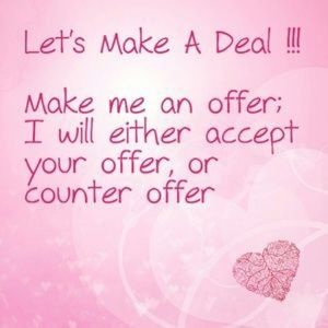 Let's Make A Deal!!! 💗 No Lowballing Please!!!