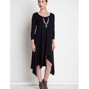 """Lover's Call"" Asymmetrical Midi Dress"