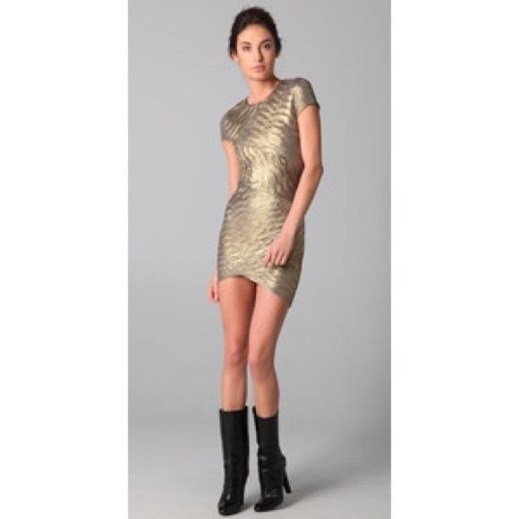da8a2428df Torn by Ronny Kobo Kaitlyn Pleated Dress. M 5610a8c24e95a36ac9006590