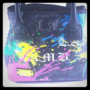 *Sold*LAMB Gwen Stefani Williamsfield Splatter Bag