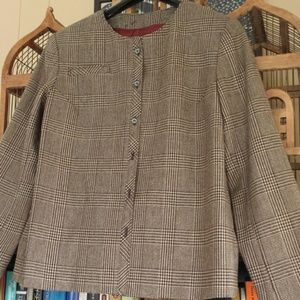 Wool tweed Acne stylized vintage blazer