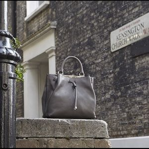 Mulberry Handbags - Mulberry Small Grey Kensington