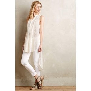 Anthropologie Embroidered Panal Tunic