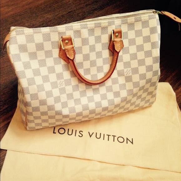 18 off louis vuitton handbags louis vuitton speedy 35 for Louis vuitton miroir speedy 35