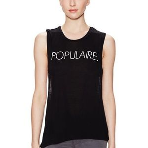 CHRLDR Tops - Populaire Open Back Tank Top