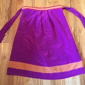 Twelve Purple and Orange Skirt