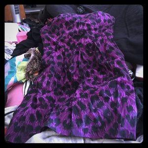 Purple Cheetah Dress