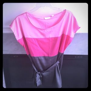New York & Company Colorblock Blouse