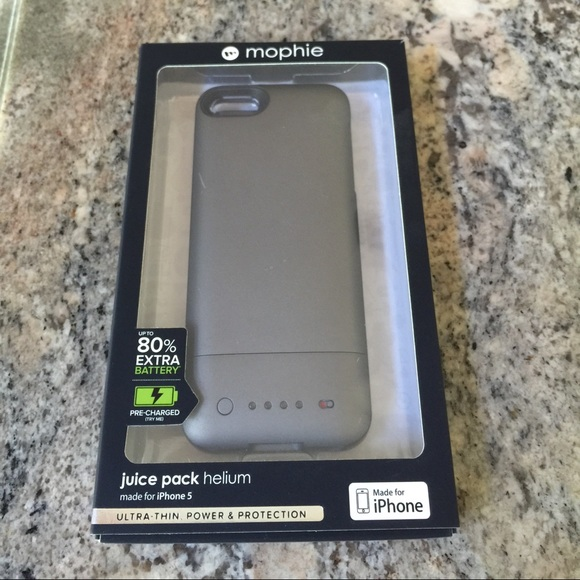 Accessories Iphone 5 Mophie Juice Pack Helium Grey Poshmark