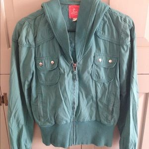 Urban Outfitters bomber jacket -size small - green