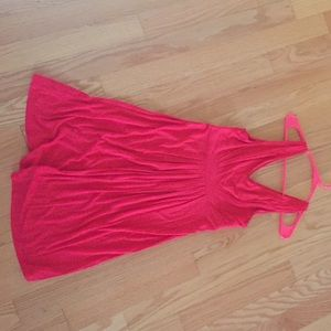 Red sleeveless dress - extremely comfortable