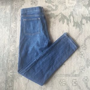 J. Crew toothpick jeans stretch 26