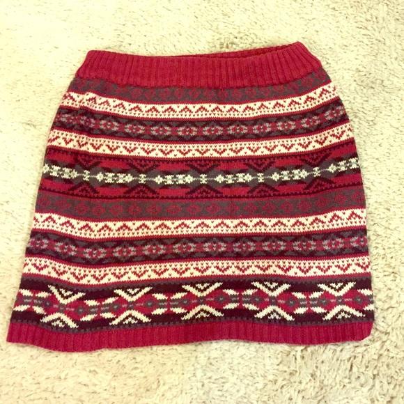 50% off Dresses & Skirts - Fair isle sweater skirt 😍 from Allie's ...