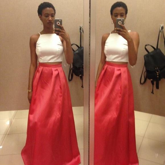 Red dress 2 piece xscape