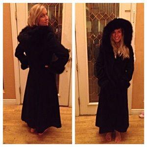 marvin richards Jackets & Coats - Black wool coat