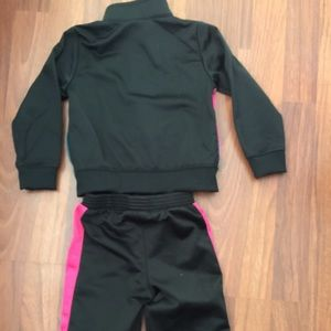 64ba3d66ff Nike Other - Nike toddler track suit girls 24 mo 2T