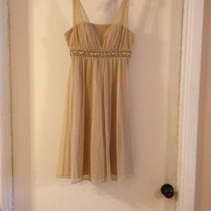 Jessica Howard Dresses - Gold cocktail dress