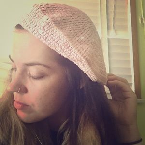 Claire's Accessories - Pink bad hair day hat