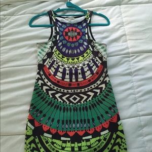Bodycon Tribal Charlotte Russe Dress