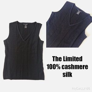 The Limited Tops - Cashmere ribbed tank