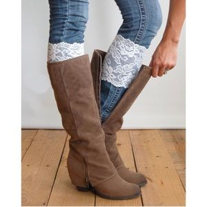• Lace Leg Warmers •