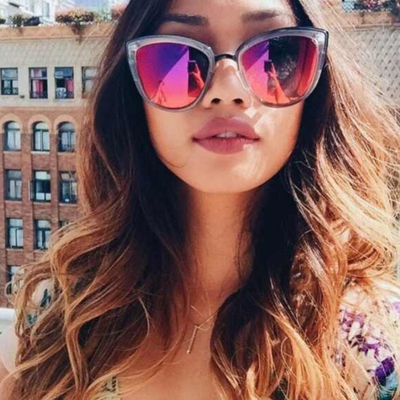 d708223fd00 Quay Accessories - QUAY Australia My Girl Sunglasses - Coffee Pink 😎