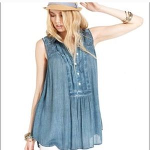 Free People Tops - Free people sleeveless tunic