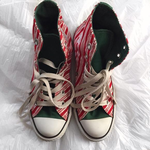 510dd96d85a282 Converse Shoes - Converse Chuck Taylor High Top Christmas Edition