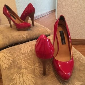 Candy Apple Red Wedding Shoes